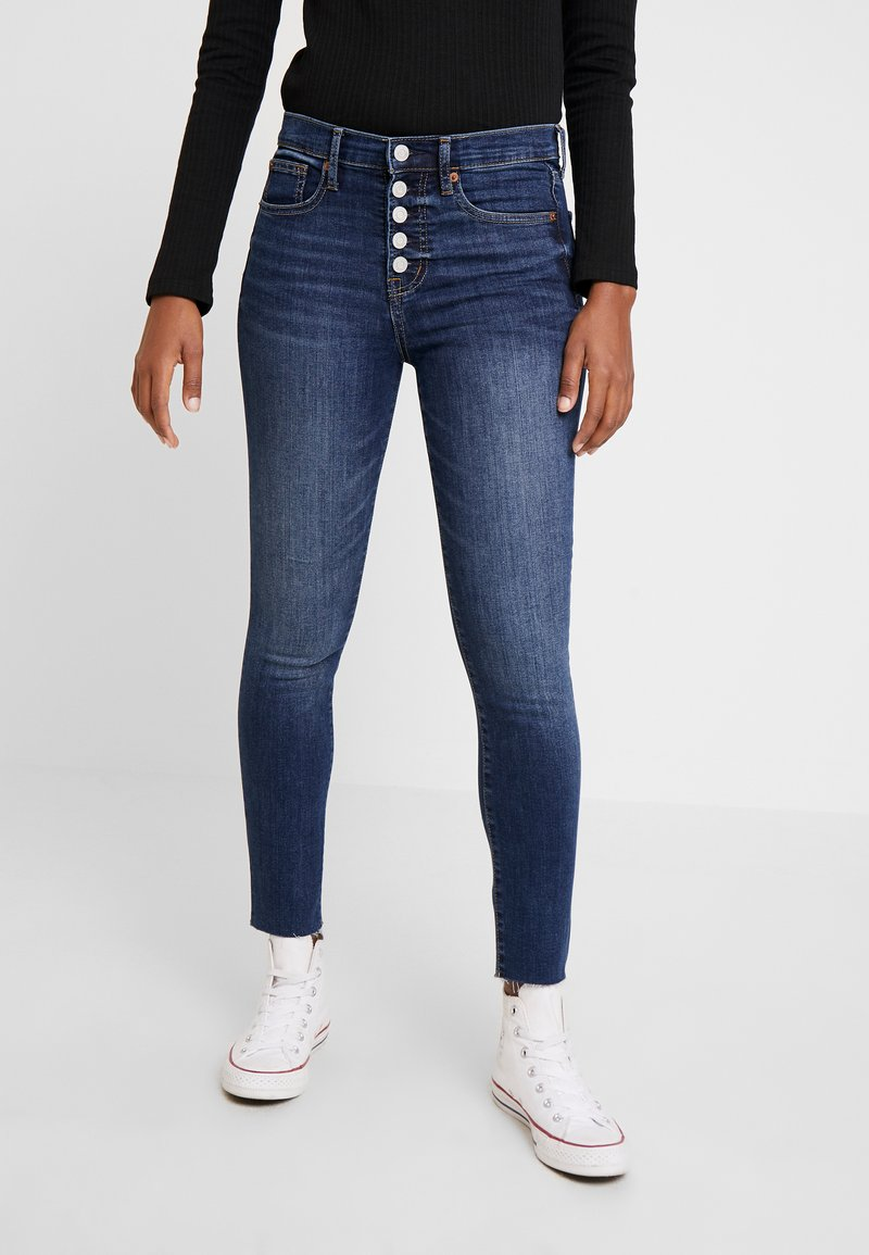 GAP - ANKLE DARE - Jeans Skinny Fit - dark indigo