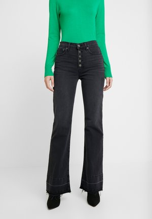 EXP COMET - Jeans a zampa - true black