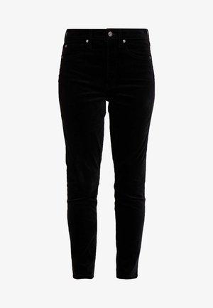 SKINNY ANKLE - Kalhoty - true black