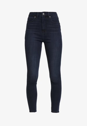 ANKLE INKWELL - Jeansy Skinny Fit - navy overdye