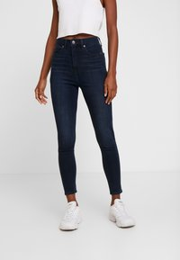 GAP - ANKLE INKWELL - Jeans Skinny Fit - navy overdye - 0