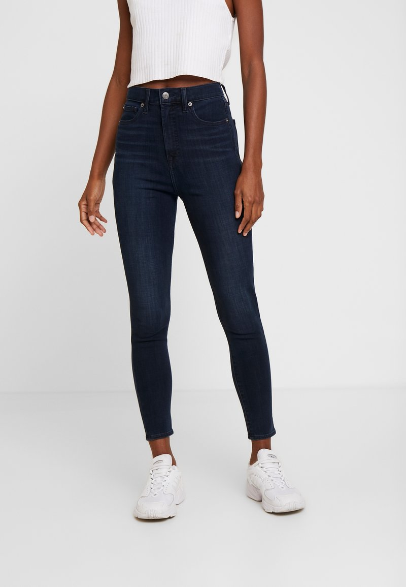 GAP - ANKLE INKWELL - Jeans Skinny Fit - navy overdye