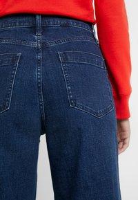 GAP - MONTANA - Flared Jeans - dark indigo - 3