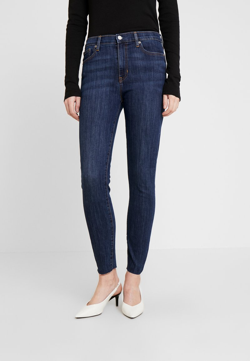 GAP - SHIRLEY - Slim fit jeans - dark indigo