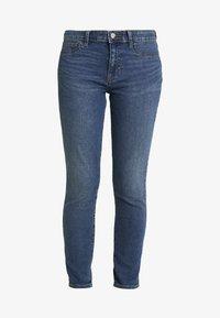 GAP - FAVORITE RINSE - Jeans Skinny Fit - dark indigo - 3