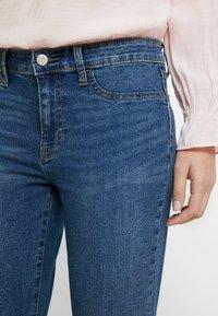 GAP - FAVORITE RINSE - Jeans Skinny Fit - dark indigo - 4