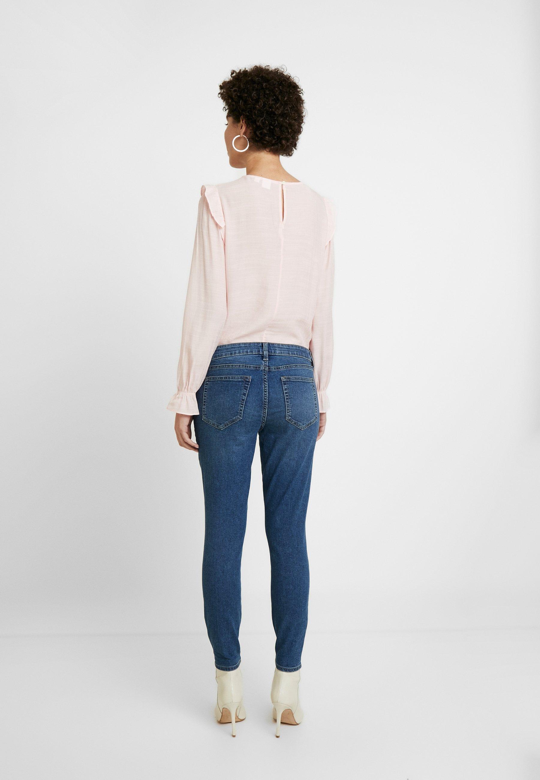 GAP FAVORITE RINSE - Jeans Skinny Fit - dark indigo