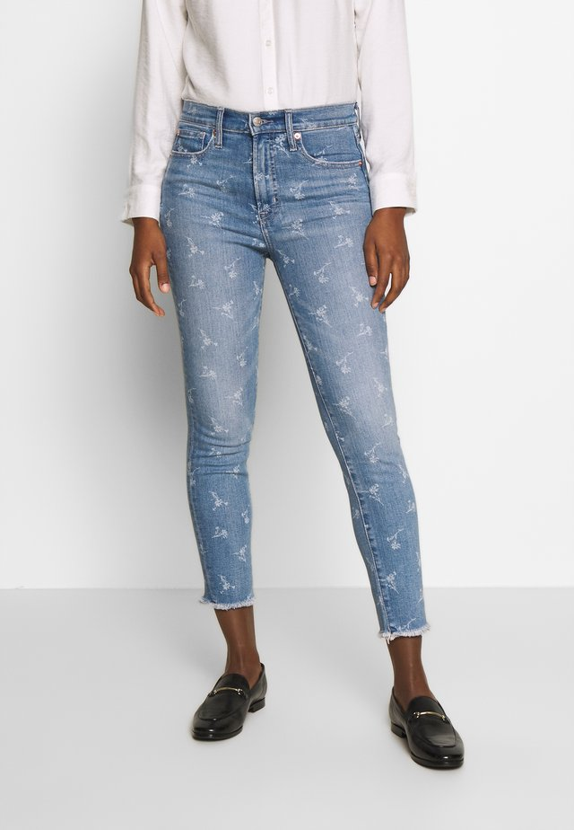 ANKLE HOPE FLORAL  - Jeansy Skinny Fit - light indigo