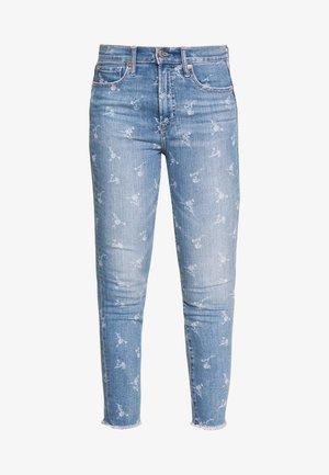 ANKLE HOPE FLORAL  - Jeans Skinny Fit - light indigo
