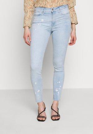 BLEACHED - Slim fit jeans - light blue denim