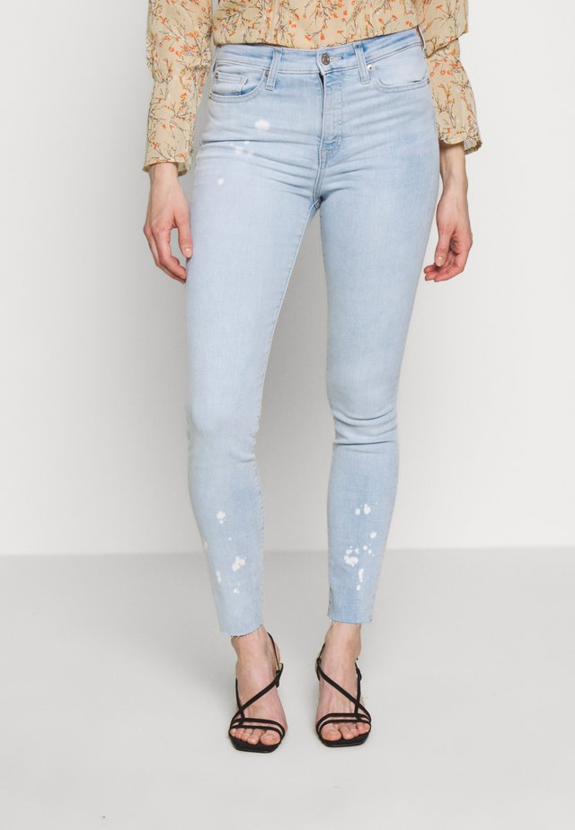 BLEACHED - Jeans Slim Fit - light blue denim