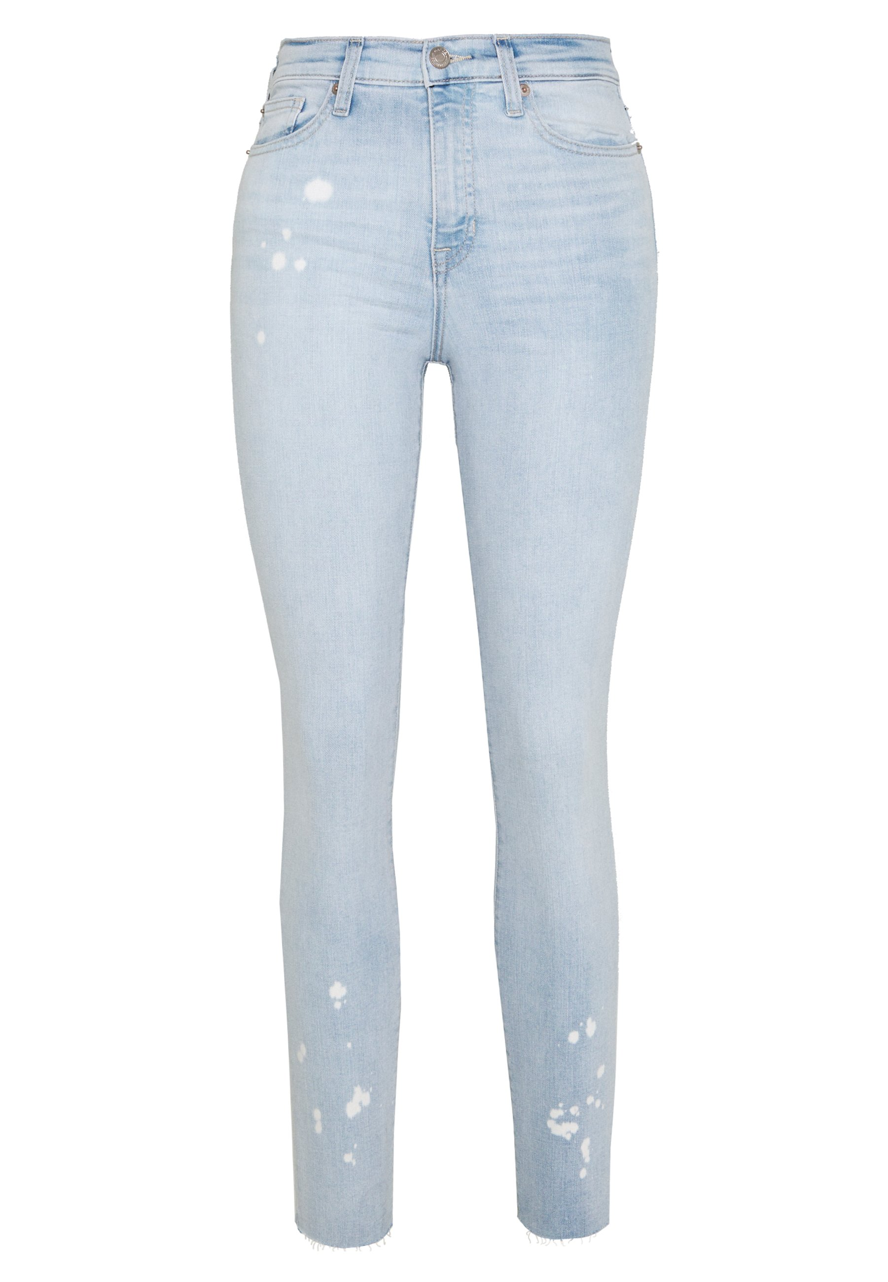 GAP BLEACHED - Jeansy Slim Fit - light blue denim