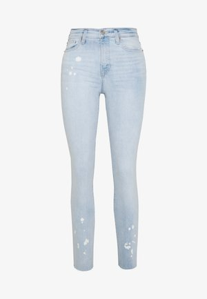 BLEACHED - Slim fit jeans - light blue denim