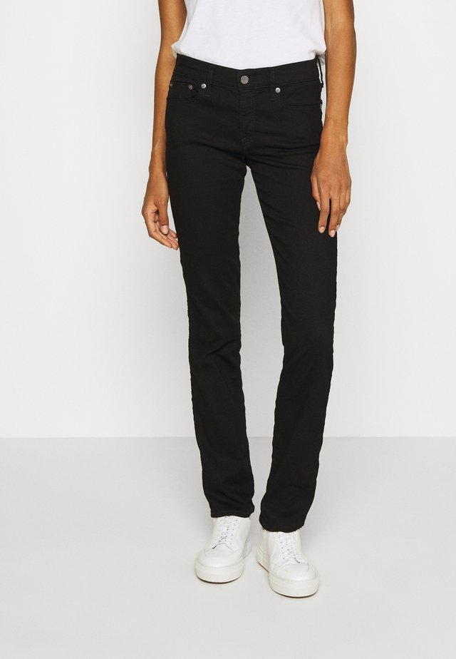 Jeans Straight Leg - basic black