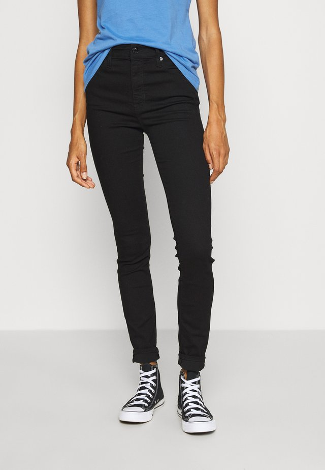 RINSE - Jeansy Skinny Fit - black wash
