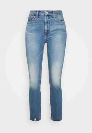 CIGARETTE KADUNA - Jeans straight leg - dark-blue denim