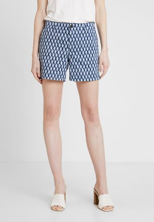 CITY - Shorts - blue geo