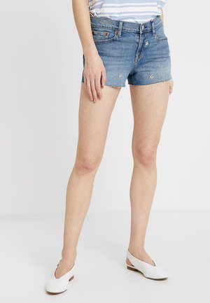 MED MOAT - Jeans Shorts - authentic medium