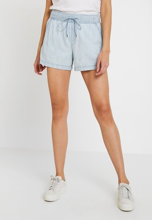 PULL ON CHAMBRAY - Shorts - light bleached
