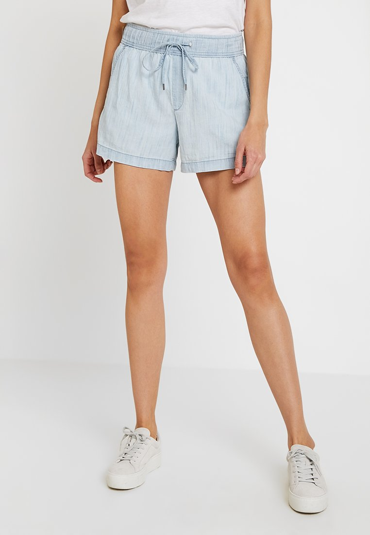 GAP - PULL ON CHAMBRAY - Shorts - light bleached