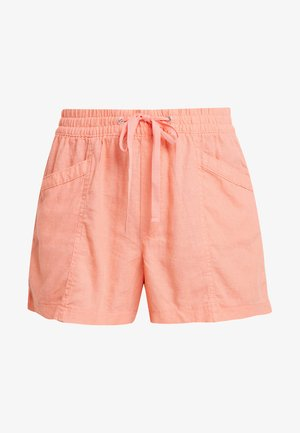 PULL ON UTILITY SOLID - Kraťasy - neon coral