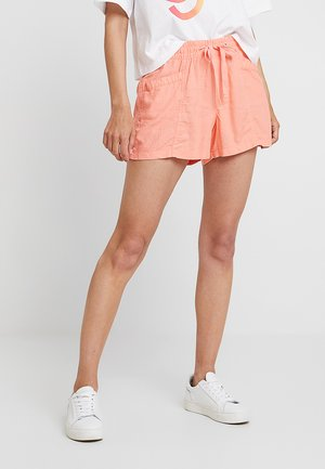 PULL ON UTILITY SOLID - Shorts - neon coral