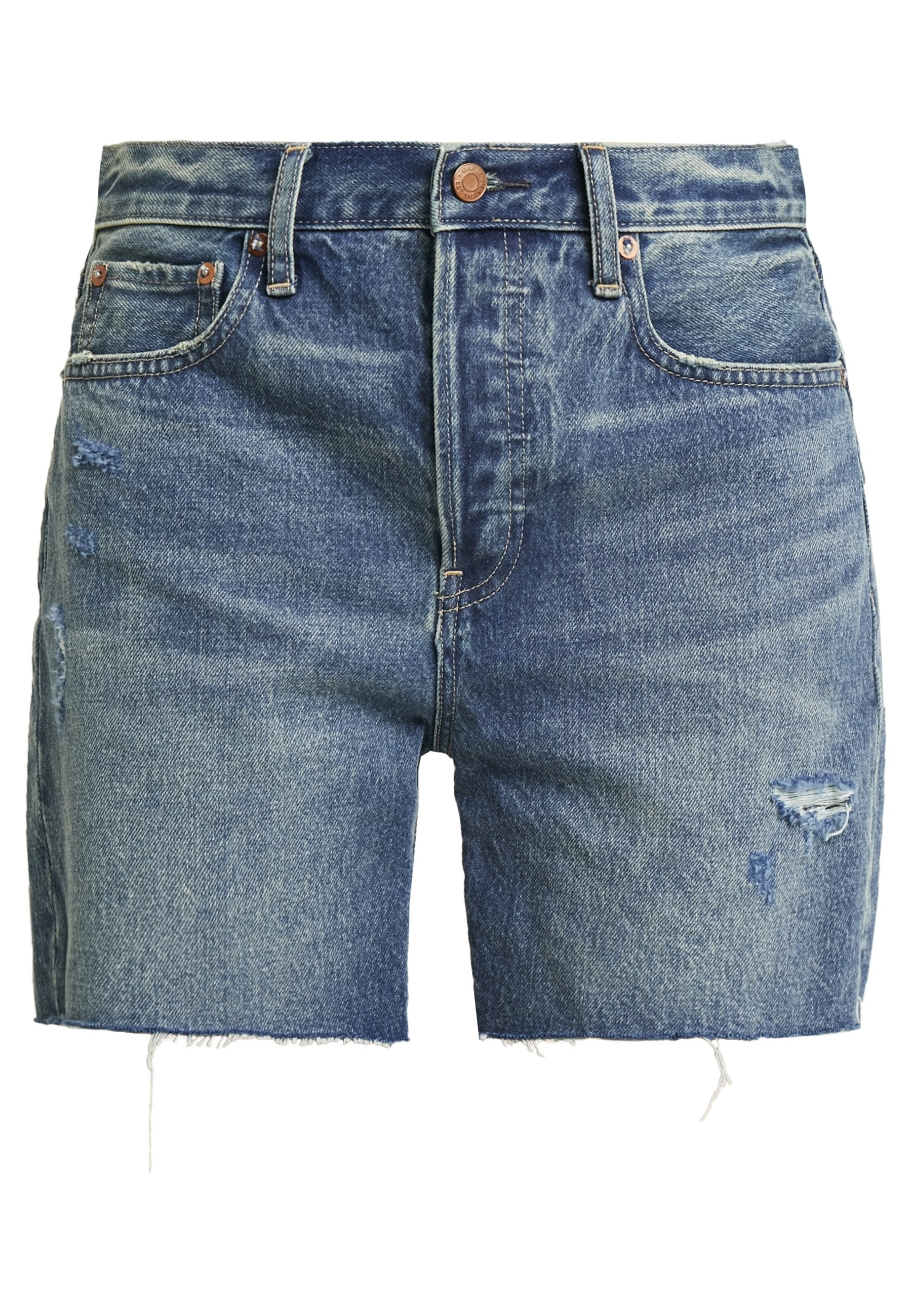 Gap Short Burton - Denim Shorts Medium Indigo