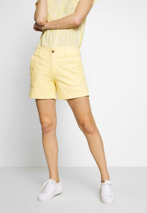 Shorts - faded yellow