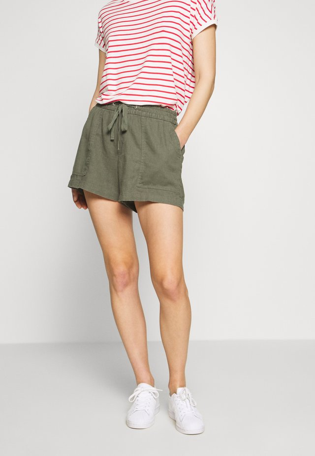 PULL ON UTILITY SOLID - Shorts - greenway