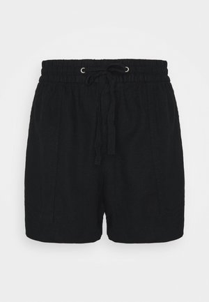 PULL ON UTILITY SOLID - Shorts - true black