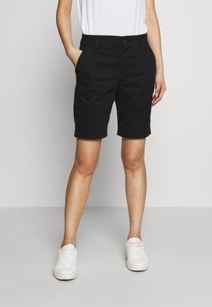 BERMUDA - Shorts - true black