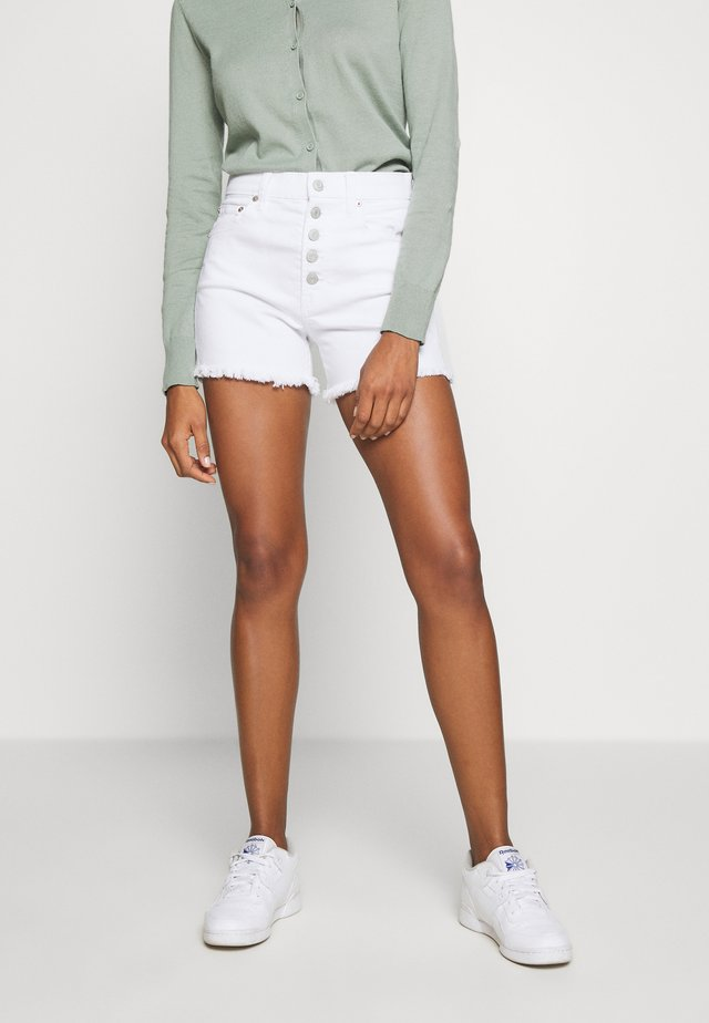 Short en jean - optic white