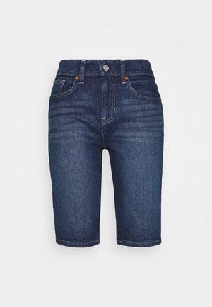 BERMUDA PENINSULA  - Short en jean - dark indigo