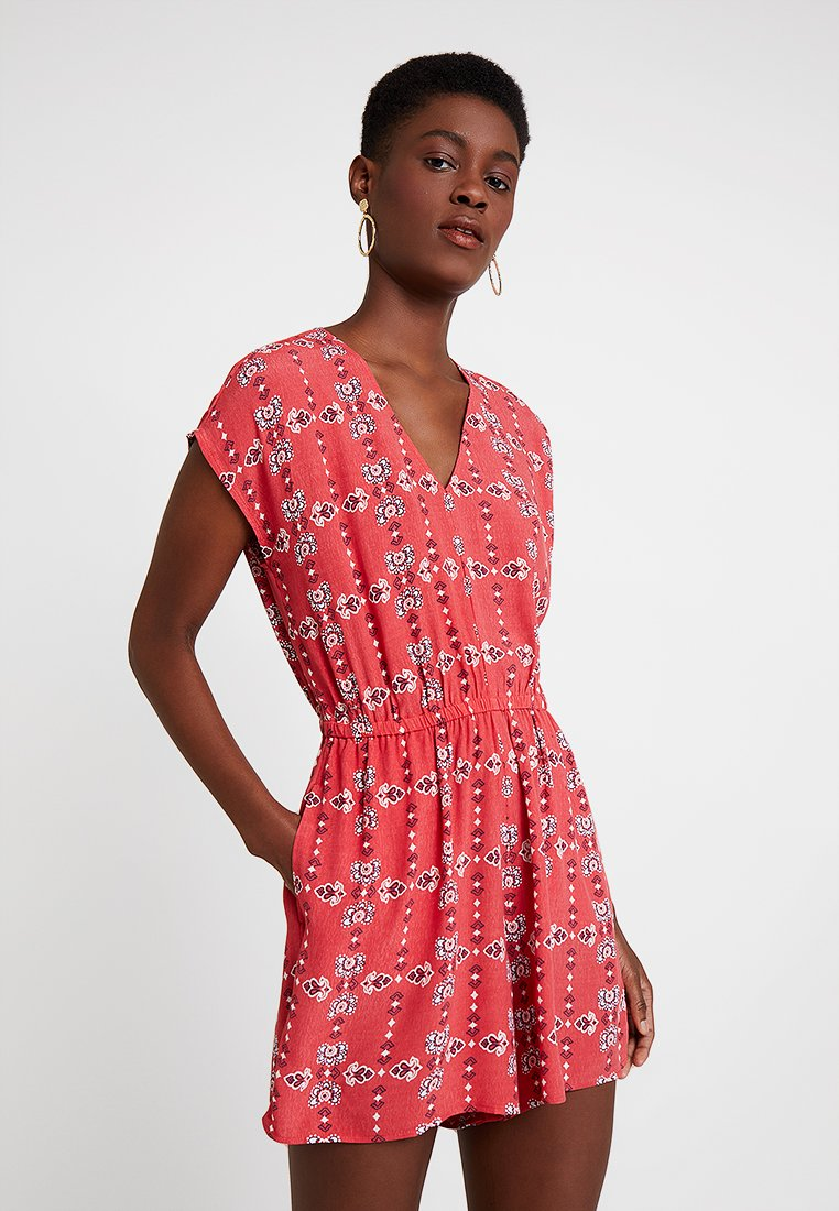 GAP - ROMPER - Overal - red