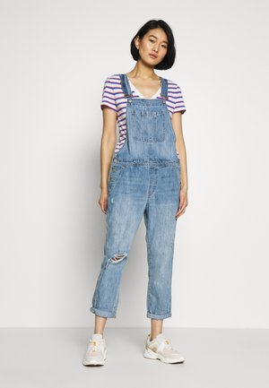 V-SLOUCHY OVERALL VICTORIA - Combinaison - light wash