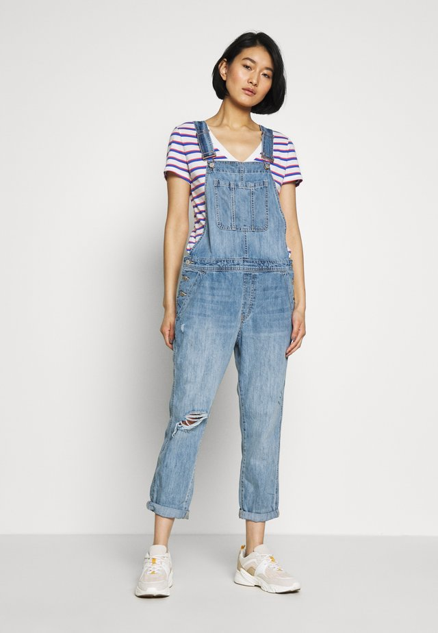 V-SLOUCHY OVERALL VICTORIA - Kombinezon - light wash