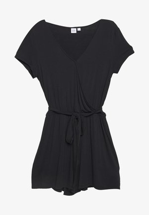 WRAP ROMPER - Combinaison - true black