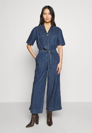 BELTED - Combinaison - medium indigo