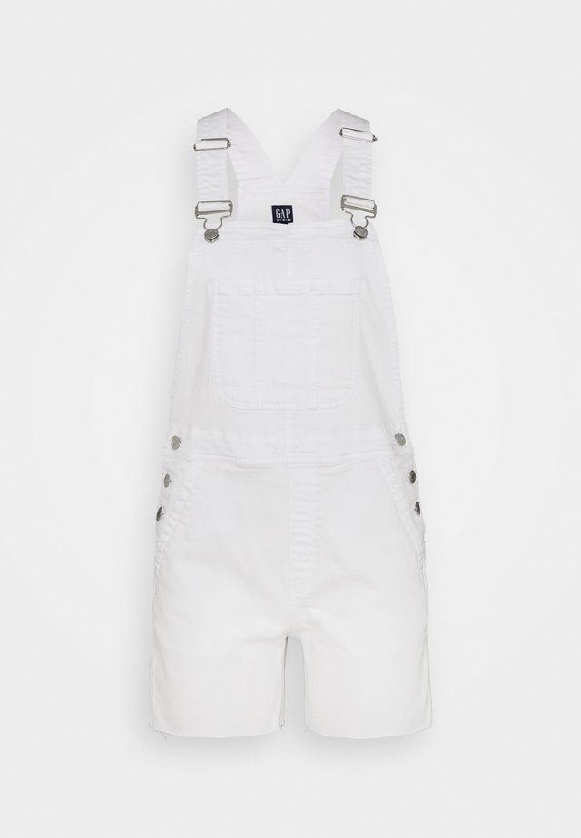 V-SHORTALL - Ogrodniczki - optic white