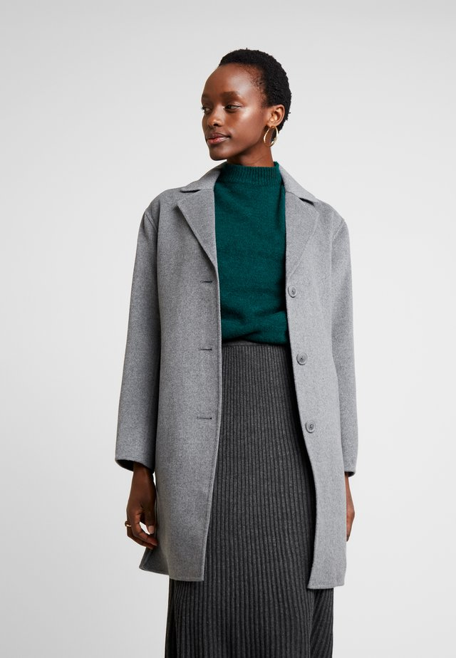 COAT - Classic coat - heather grey