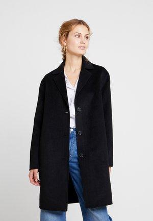 COAT - Mantel - true black