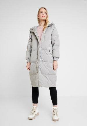 Down coat - silver
