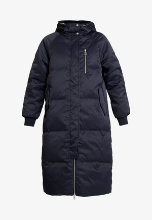 Down coat - true black