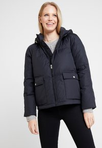 GAP - Gewatteerde jas - true black - 0