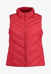 GAP - PUFFER VEST - Waistcoat - modern red - 4