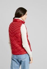 GAP - PUFFER VEST - Waistcoat - modern red - 2