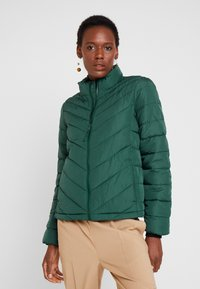 GAP - WARMEST PUFFER JACKET - Light jacket - moores green - 0