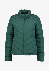 GAP - WARMEST PUFFER JACKET - Light jacket - moores green - 4