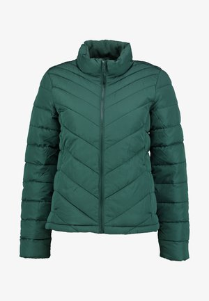 WARMEST PUFFER JACKET - Lehká bunda - moores green