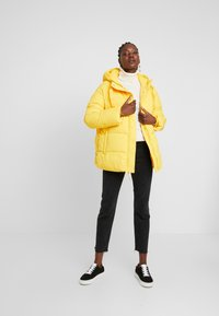 GAP - MW FASHION PUFFER - SOLID - Winterjas - bold yellow - 1